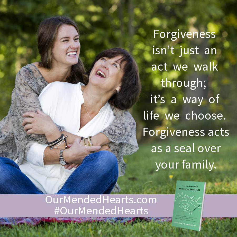 Forgiveness isn't just an act we walk through; it's a way of life we choose. Forgiveness acts as a seal over your family.